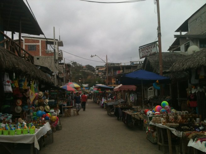 Montanita, surf capital of Ecuador