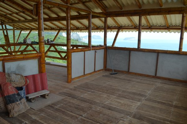 Guest room/balcony of palapa