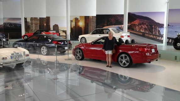 Gina at BMW